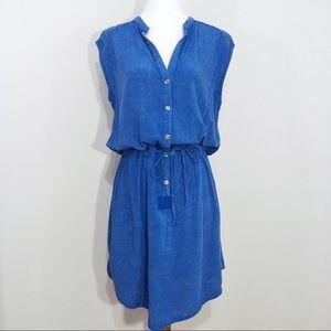 Anthropologie The Odells Waist Tie Shirt Dress M